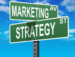 Marketing Strategy führt zu Success Achievement